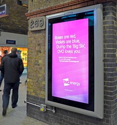 Ovo Energy's Digital Out-of-Home Campaign Encourages Consumers to ...