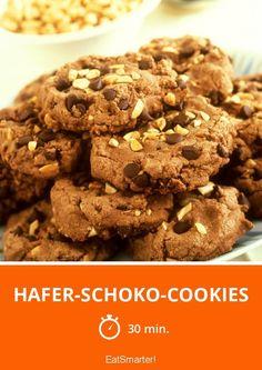Hafer-Schoko-Cookies - smarter - Zeit: 30 Min. | eatsmarter.de