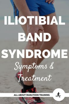 Iliotibial Band Syndrome - don't let it ruin your running! Here are symptoms of the classic injury and how to treat it! Iliotibial Band Stretches, It Band Stretches, Knee Stretches, Itb Band Syndrome, Iliotibial Band Syndrome, Running For Beginners, Running Tips, Running Humor, Trail Running