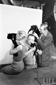 """BLACK CAT AUDITIONS IN HOLLYWOOD, 1961 Lorre and Price starred in """"The Black Cat,"""" one of three segments in Roger Corman's feature film """"Tales of Terror"""" (1962). """"The Black Cat"""" was based on a short story by Edgar Allan Poe and is one of many adapted by Corman and released by American International Pictures."""