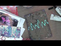 Dina Wakley Media Week | Printing with the Fine Tip Applicator | Ranger Ink and Innovative Craft Products