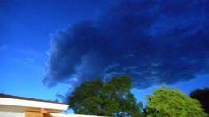 Dragon cloud over our backyard