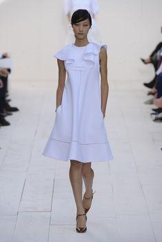 Chloé RTW Spring 2013 - Hosiery, Dress Skirt, Spring Fashion, Chloe, Ready To Wear, Runway, High Neck Dress, Style Inspiration, Gowns