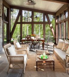 Screened Porch - contemporary - porch - denver - Vertical Arts