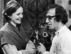 Diane Keaton and Woody Allen in Love and Death, directed by Woody Allen