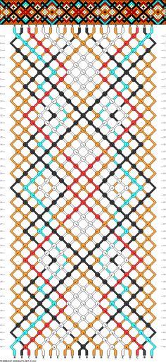 Friendship bracelet pattern 81363 new Floss Bracelets, Bracelet Knots, Woven Bracelets, Diamond Bracelets, Pandora Bracelets, Bangles, Mochila Crochet, Diy Friendship Bracelets Patterns, Diy Accessoires