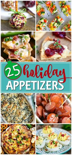 of the most amazing holiday appetizers to make this year's holiday entertaining the best it's ever been! Easy, festive, and totally delicious! // Mom On Timeout appetizers Holiday Appetizers Finger Food Appetizers, Appetizers For Party, Appetizer Recipes, Easy Holiday Appetizers, Holiday Appitizers, Best Appetizers Ever, Appetizer Dinner, Delicious Appetizers, Healthy Holiday Recipes