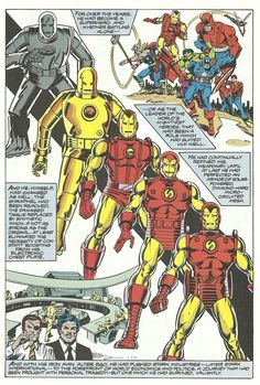 Iron Man is the financier,organizer of the Avengers charter,and military wunderkind that pulled all the political strings together that allows the Avengers to exist as a government sanctioned group rather than a bunch of vigilantes. He is the heart of the Avengers and thus the component that keeps them in operation.