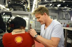 Gordon Ramsay Tours Ferrari's Maranello Home