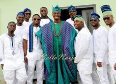 Nigerian Muslim Wedding BellaNaija Yoruba Traditional Wedding Engagement PeacockTAP_4737