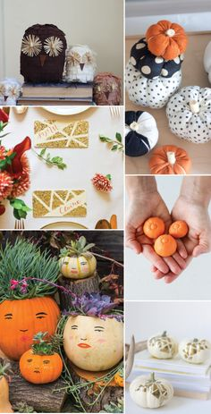 Fall Decor Crafts for Halloween or Thanksgiving