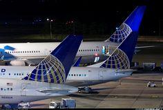 United Boeing 757-222 @ IAH