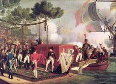 Napoléon et Marie-Louise à Anvers, le 2 mai 1810, de Louis Philippe Crépin (1772-1851)