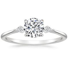 Timeless Engagement Ring, Beautiful Engagement Rings, Engagement Ring Settings, Diamond Engagement Rings, Diamond Rings, Three Stone Rings, Brilliant Earth, Eternity Ring, Wedding Rings