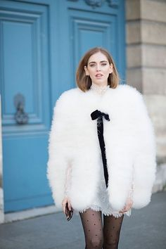 I'm like a cloud: sixth look of PFW FW16   The Blonde Salad
