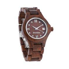 Woodstone Queen Rosewood Wooden Watch