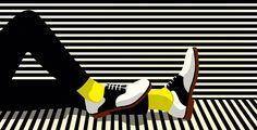 Geometría, colores planos, formas simples, volúmenes y sombras acentuadas y un aire pop son los ingredientesque hacen único y elegante el estilo de la gran ilustradora francesa Malika Favre; una de mis ilustradoras favoritas que