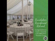Bundaleer Rainforest Garden Wedding Ceremony - Celebrant Natasha Lewis