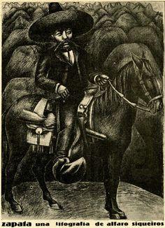 Zapata, una litograf