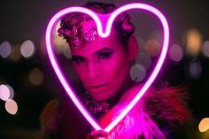 Artistic portrait session #drag #dragqueen #makeup #beauty #purple #genuine #colorful #lgbt #nikon #d850 Queen, Portrait, Cat Ears, In Ear Headphones, Nikon, Purple, Makeup, Artist, Color