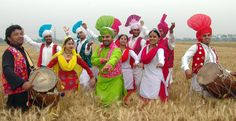 Baisakhi is essentially a ‪#‎festival‬ that is celebrated in north ‪#‎India‬ and heralds the beginning of the harvest season.