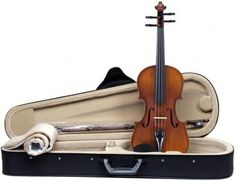The Sandner Germany 303 Violin Outfit is an ideal starter violin outfit with effortless playability and excellent tone.