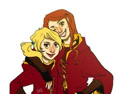 ... and Rose as a chaser, Gryffindor's Quidditch team is formidable