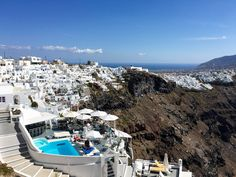 More views along the path to Fira, Santorini, Greece