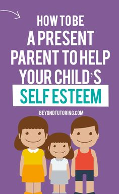 Every kid needs his own cheering squad, sounding board and mentor. These roles are some of the many in the long list detailed in the job description of a parent. All these roles require a parent's presence. So you must be available to your child. Here are a few ways you can be present for your child, even when your time is limited. Click the PIN to learn how to be a present parent to help your child's self esteem.