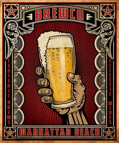 Beer Bar, Brewery, Graphic Design, Wallpaper, Logos, Gallery, Illustration, Juice, Alcohol
