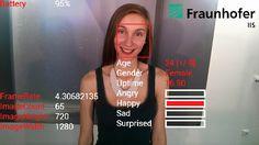 """Für Assessment Center? Video-Interviews? Fraunhofer Institut entwickelt App """"SHORE"""", zur Emotionserkennung per Datenbrille Google Glass"""