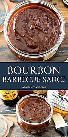 A zesty homemade bourbon barbecue sauce perfect for pulled pork or other barbecued meats. A zesty homemade bourbon barbecue sauce perfect for pulled pork or other barbecued meats. Homemade Bbq Sauce Recipe, Barbecue Sauce Recipes, Grilling Recipes, Bbq Sauces, Pulled Pork Sauce Recipe, Vegetarian Grilling, Healthy Grilling, Smoker Recipes, Rib Recipes