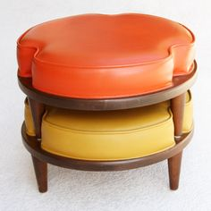 Stackable ottomans