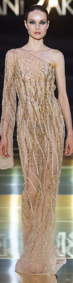 – 65 photos - the complete collection Fashion 2018, Runway Fashion, Spring Fashion, Autumn Fashion, Golden Dress, Golden Gowns, Haute Couture Paris, Beautiful Long Dresses, High End Fashion