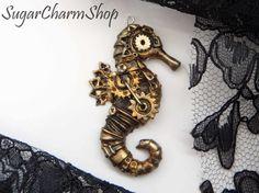 PDF+TUTORIAL+for+''steampunk+seahorse+charm''+by+SugarCharmShop,+$13.00