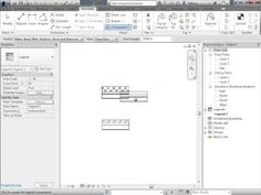 Revit Wall Tags and Wall Types Legend - YouTube