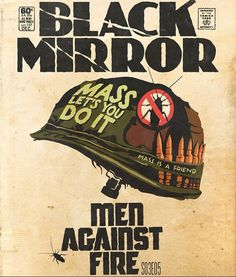 Episodes of 'Black Mirror' Brilliantly Transformed Into Classic 60-Cent Comic Book Covers