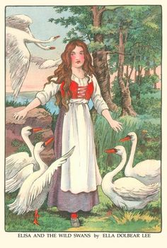 Elisa and the Wild Swans by Ella Dolbear Lee