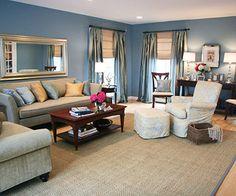 Pretty, elegant living room