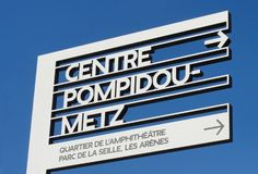 Centre Pompidou Metz signage system - Fonts In Use