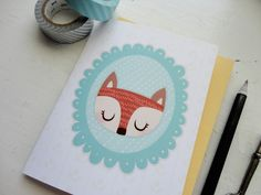 Isabell's Umbrella offers cards, prints, jotters, bookmarks and custom rubber stamps with a sly, subtle and sweet sense of humor running through it.