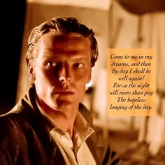 Oathkeeper — From image uploaded by Quote from. Oh My Love, I Am The One, Turn To Page 394, Ser Jorah, Iain Glen, Berlin Film Festival, Prince Of Darkness, City Roller, Robert Burns