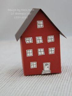 Haus aus Papier with Die Mini Milk Karton