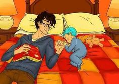 Harry Potter Teddy Lupin too cute!