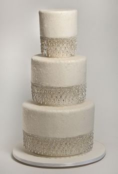 Image detail for -White Wedding Cake Toppers White Wedding Cake with Diamond – Wedding ...