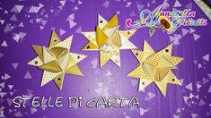 Tutorial stelle di Natale origami con il set LIDL   Christmas Decorations