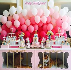 Girly vintage circus party