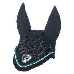 Eskadron Navy Ear Bonnet, understated and stunning!! Buy here http://www.equusemporium.com.au/horse/ear-bonnets/eskadron-classic-sports-fly-veil