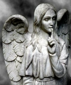 {Don't Blink] Angel of Silence statue #DontBlink #Angel