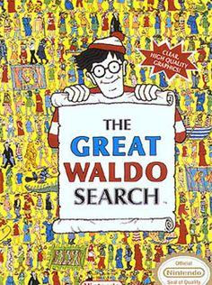 """Take """"Where's Waldo?"""" or any picture book, and describe what the people are doing in the picture. """"Look, Waldo is walking. Game Boy, 90s Childhood, Childhood Memories, Dream Cast, Wheres Wally, Arcade, Retro Gamer, This Is A Book, 90s Kids"""